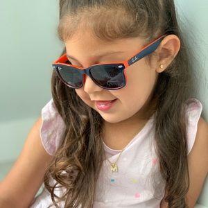 Ray Ban Junior Wayfarer Sunglasses RJ9052S 178/80